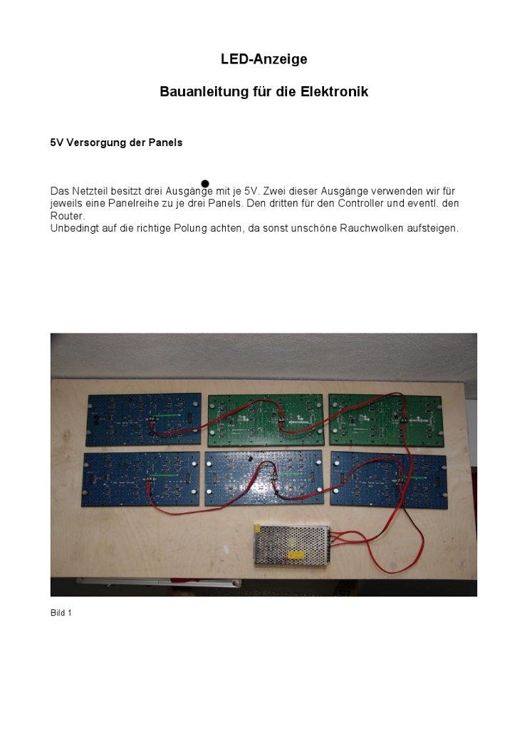 Turbo PureContest Software für den Bogensport - Bauanleitung PO76