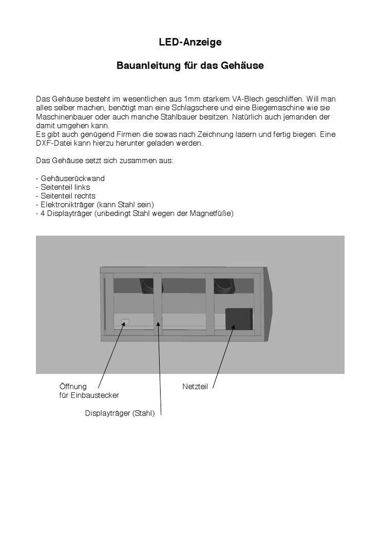 Gut gemocht PureContest Software für den Bogensport - Bauanleitung HT14